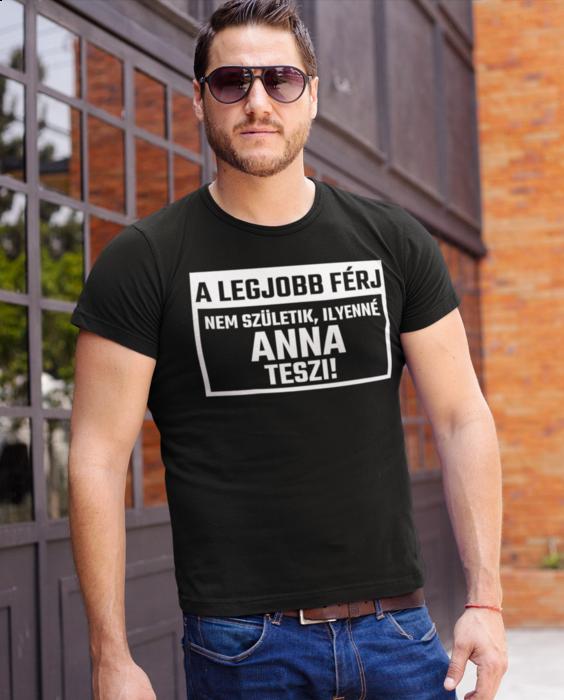 Vicces póló a legjobb férj nem születik